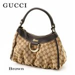 GUCCI(���å�) ���������Хå���D-GOLD��190525 FFPAG 9643��Brown