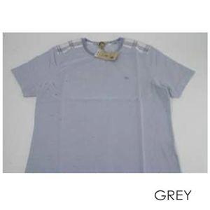 BURBERRY(バーバリー) メンズ半袖Tシャツ M15152S グレイブルーM