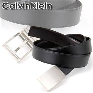 Calvin Klein(カルバンクライン)ベルトセット 74139 ブラック×ブラウン(リバーシブル)