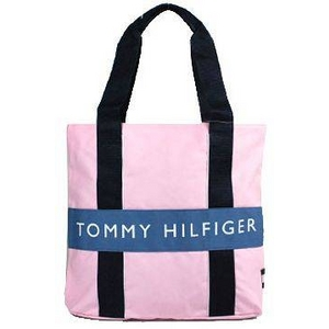 TOMMY HILFIGER(トミーヒルフィガー) HARBOUR POINT II (ハーバーポイント2) NSトート PINK/S BLUE