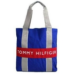 TOMMY HILFIGER(トミーヒルフィガー) HARBOUR POINT II (ハーバーポイント2) NSトート OLYMPIAN BLUE/RED
