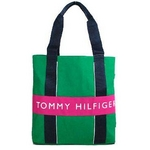 TOMMY HILFIGER(トミーヒルフィガー) HARBOUR POINT II (ハーバーポイント2) NSトート KELLY GREEN/BERRY