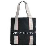 TOMMY HILFIGER(トミーヒルフィガー) HARBOUR POINT II (ハーバーポイント2) NSトート BLACK/BLACK