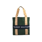 TOMMY HILFIGER(トミーヒルフィガー) HARBOUR POINT II (ハーバーポイント2) NSトート ARMY GREEN/NAVY
