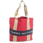 TOMMY HILFIGER(トミーヒルフィガー) HARBOUR POINT II (ハーバーポイント2) NSトート RED/NAVY
