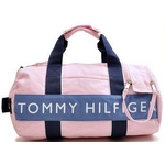 TOMMY HILFIGER(トミーヒルフィガー) HARBOUR POINT II(ハーバーポイント2) ミニダッフル PINK/BLUE
