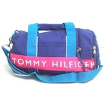 TOMMY HILFIGER(トミーヒルフィガー) HARBOUR POINT II(ハーバーポイント2) ミニダッフル OLYMPIAN BLUE/ HOT PINK