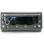 SENOFICH(セノ・フィッチ) PVC & エナメル長財布 SF24 BLACK