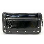 SENOFICH(セノ・フィッチ) PVC & エナメルラウンド長財布 SF25 BLACK