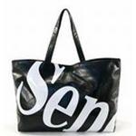 SENOFICH(セノ・フィッチ) ショッピングトートバッグ SF26 BLACK