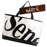 SENOFICH(セノ・フィッチ) SF30 ショッピングトートバッグ WHITE