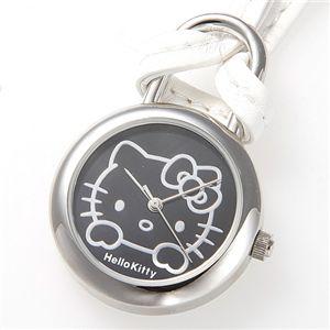 HELLO KITTY(ハローキティ) Hello Kitty スイングポーチウォッチ HKY-4040-BK ブラック