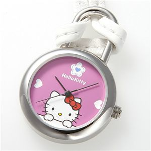 HELLO KITTY(ハローキティ) Hello Kitty スイングポーチウォッチ HKY-4040-PK ピンク