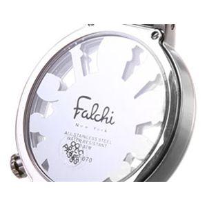 Falchi New York(ファルチ ニューヨーク) シースルーウォッチ FR-070-03 メンズ・ホワイト