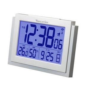 WAVECATCHER(ウェーブキャッチャー) 温度・湿度計付き置き掛け兼用電波クロック SA-913R