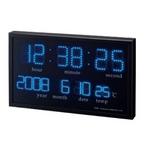 Felio(フェリオ) アギラ 温度計付きデジタル掛け時計 FEW120BK