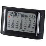 Felio(フェリオ) フレミング 月間カレンダーデジタル表示電波置き時計 FEA128BKの詳細ページへ