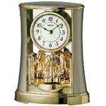 セイコークロック 回転飾り置時計 BY428G