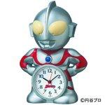 セイコークロック ウルトラマン 目覚し時計JF336A