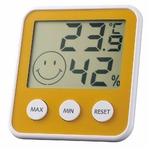EMPEX(エンペックス) デジタルmidi 温度・湿度計 TD-8314 パールイエローの詳細ページへ