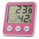 EMPEX(エンペックス) デジタルmidi 温度・湿度計 TD-8315 チェリーピンクの詳細ページへ