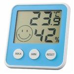EMPEX(エンペックス) デジタルmidi 温度・湿度計 TD-8316 アクアブルーの詳細ページへ