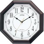MAG(マグ) アナログ掛け時計 ブラウン W-287BR-Z/オクターゴの詳細ページへ