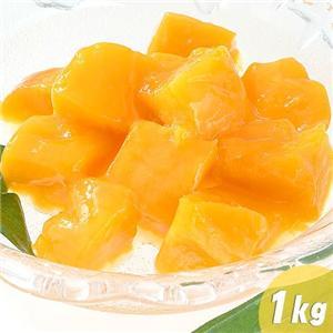 とろーり濃厚!甘くて美味しい♪冷凍 完熟カラバオマンゴー 1kg