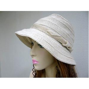 OBIJIME(帯締め) コットン帽子 ベージュ