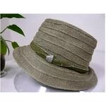 OBIJIME(帯締め) コットン帽子 カーキ