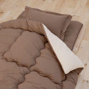 テイジン共同開発!マイティトップ(R)II使用 清潔・快適寝具シングル4点セット 【フローリング・床敷用】