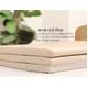 テイジン共同企画 硬綿入り3つ折りマットレス シングル ブラウン 写真4