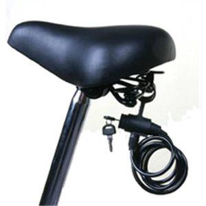自転車用ロングワイヤーロック