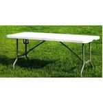 折りたたみテーブル大型 ホワイト 会議デスクにも使用可能