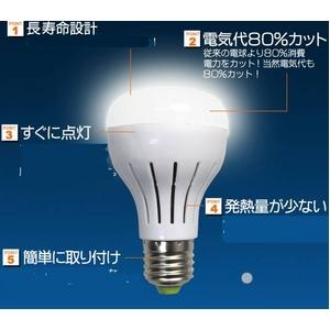 3WLED電球 口金E26型 白色相当30W 【10個セット】