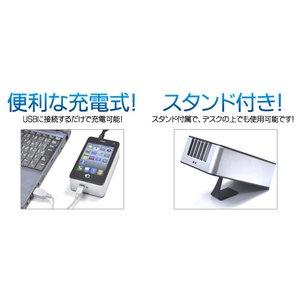 【ブラック】充電式首かけミニ扇風機 デスクでも使用可