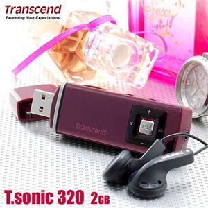 Transcend MP3プレーヤー T.sonic 320 2GB の詳細をみる