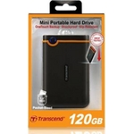 Transcend(トランセンド) ミニポータブルHDD StoreJet18M 120G