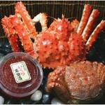 北海道の豪華海の幸満足3セット-オホーツク海の潮の香りをご家庭で-