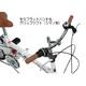 mypallas 16インチ折畳自転車 シマノ6段ギア リアサス M-09 ホワイト 写真3