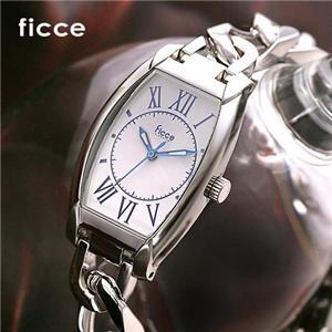 ficce チェーンブレスウォッチ FC-11913-1/ホワイト