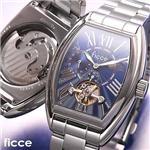 ficce オートマチック サン&ムーン ブレスウォッチ FC-11703-03 ブルー