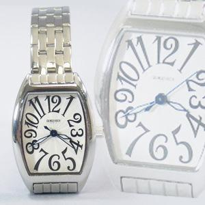 ジョルジュレッシュ 婦人 3針メタル腕時計 GR-14002-01 シルバー(黒)