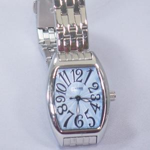 ジョルジュレッシュ 婦人 3針メタル腕時計 GR-14002-02 ライトブルー