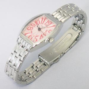 ジョルジュレッシュ 婦人 3針メタル腕時計 GR-14002-04 ピンク
