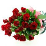 米寿の御祝い 赤バラ88本の花束