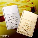 【直江兼続のシンボル】「愛」ZIPPO 2色 シリアルNo入 ゴールド