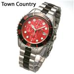 Town&Country ダイバークロノ メンズ WS0101TT