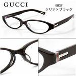 GUCCI(グッチ) ダテメガネ GG9037J-807/9037・クリア×ブラック