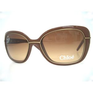 Chloe(クロエ) サングラス CL2168-C03 ブラウングラデーション×ブラウン